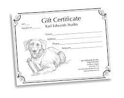 gift certificates karl edwards gift certificates