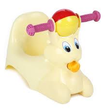 <b>Горшок</b>-игрушка <b>Пластик</b>-<b>Центр</b> Зайчик, цвет: желтый, артикул ...