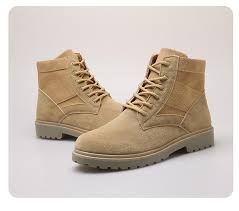 Men Spring Autumn Boots <b>Fashion Trend</b> Outdoor Army Ankle ...