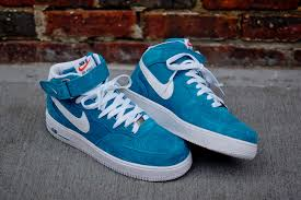 nike air force 1 mid teal air force 1 mid