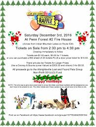 albrightsville lost and found pets big basket raffle dec rd  albrightsville lost found pets basket raffle