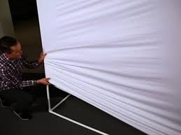 CNET How To - Make a giant projection screen - YouTube