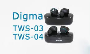 <b>Digma TWS</b>-<b>03</b> и TWS-04 – обзор беспроводных стереогарнитур ...