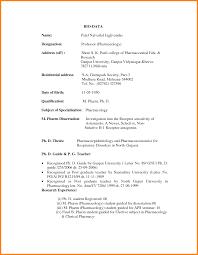 12 job application formet image ledger paper types simple bio data formet