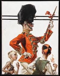 joseph christian leyendecker art for drum major oct  joseph christian leyendecker art for drum major oct 30 1920 the saturday evening post momentos posts the saturdays and the o jays