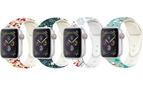 Up To 53% Off on Apple Watch <b>Christmas Band</b> | Groupon Goods
