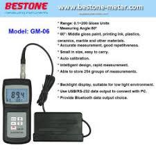 <b>Gloss Meter</b> - Bestone Industrial Limited - page 1.