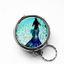 RhyNSky <b>Sea</b> Mermaid Mermaids <b>Mini Portable Pocket</b> Purse ...