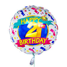 Image result for happy 21st birthday