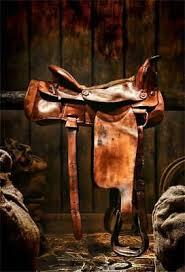 LFEEY 3x5ft Western Cowboy Brown <b>Horse</b> Saddle <b>Backdrop</b> ...