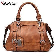 <b>Women Bag 2019 Vintage</b> Shoulder Bag Women Handbags Soft ...