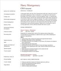 chief executive officer resume template –   free word  excel  pdf    ceo resume template pdf free download