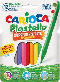 <b>Carioca Набор</b> пластиковых <b>мелков</b> Plastello 12 цветов — купить ...