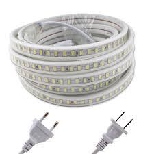 <b>LED</b> Strip 220V SMD5730 <b>120Leds</b>/<b>m 5m</b> 220 V LEDStrip Light ...