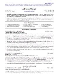 customer service resumes template agent abilities and employment service manager resume examples