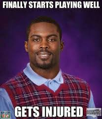 Gets Injured Meme via Relatably.com
