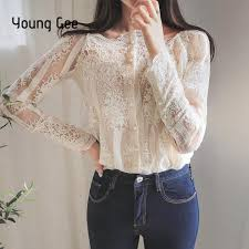 2019 <b>Young Gee Spring</b> Summer <b>Women</b> Sexy Slash Floral ...