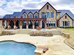 ideas about Texas Ranch Homes on Pinterest   Texas Ranch    Rustic French country style mansion ranch home in Montserrat outside Fort Worth  Texas