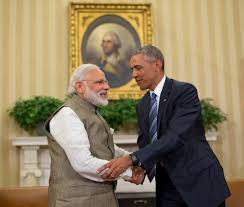 us president barack obama and indian prime minister india narendra modi shake hands before their meeting fileobama oval officejpg