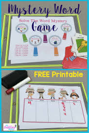 top ideas about describing words vocabulary mystery word game your kids will love