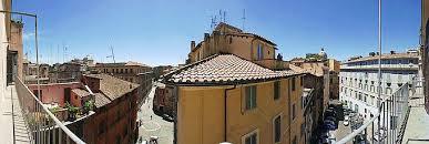 dining room rome domes da roman vista balcony view from left to right the quadrangular dome of t