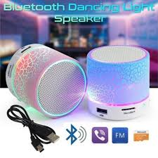<b>LED Portable Mini</b> Speakers Wireless Hands Free Speaker With TF ...