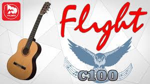 <b>Классическая гитара FLIGHT C100</b> - YouTube