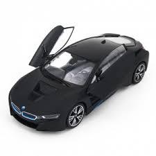 Радиоуправляемая <b>машина Rastar BMW i8</b> Black 1:14 с ...