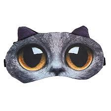 Generic <b>Creative</b> 3D <b>Cartoon Animal</b> Eye Mask Cover Rest Travel ...