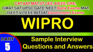 wipro jobs careers interview questions and answers videos wipro 5 jobs careers interview questions and answers videos freshers experienced