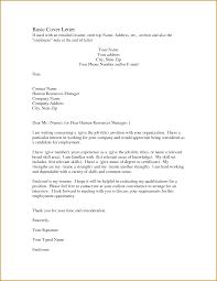 basic cover letter format basic cover letter basic cover letter samples inside simple cover letter sample