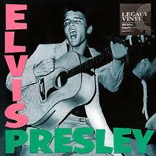 ELVIS PRESLEY LP <b>Elvis Presley 180</b> Gram BLACK Vinyl LEGACY ...