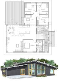 Modern house plan   high ceilings  Four bedrooms and separate    Modern house plan   high ceilings  Four bedrooms and separate TV area for kids