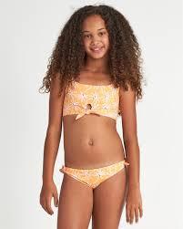 Letting Go - <b>Floral Bikini Set</b> for Teen Girls S8SW01BIP0 | Billabong