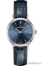 Женские наручные <b>часы Claude Bernard</b>. <b>20215</b>-<b>3BUIN</b>