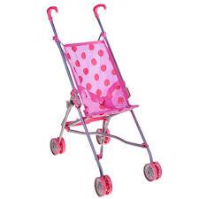 Купить <b>коляску</b> для <b>кукол</b> - <b>трость Melobo</b> S9302 (розовый/горох ...
