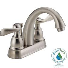 blf double handle centerset bathroom faucet