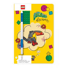 <b>Lego Classic Книга</b> для записей Building Dreams с ручкой ...