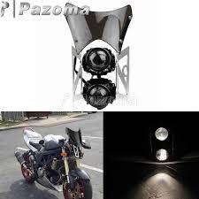 For Kawasaki Suzuki Honda Yamaha <b>Motorcycle</b> Emark E4 H3 <b>Twin</b> ...