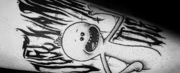 30 Mr Meeseeks Tattoo Ideas <b>For Men</b> - <b>Rick And</b> Morty Designs