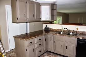 painted kitchen cabinets vintage cream: image of contemporary creamy chalk paint kitchen cabinets colors