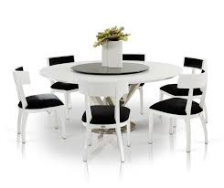 Modern Round Dining Room Tables Modern Round Dining Table For 6 Decorating Home Ideas