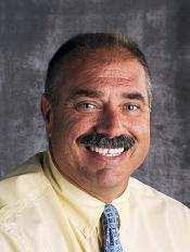 Oxford Hills Comprehensive High School principal Ted Moccia was named Maine's Principal of the Year in an ceremony Friday morning at the high school. - ted-moccia
