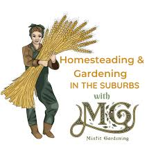 Homesteading & Gardening In The Suburbs With Misfit Gardening