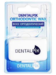 <b>Воск</b> для <b>брекетов</b> Orthodontic <b>Wax</b> нейтральный вкус Dentalpik ...