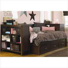 full size daybeds kendall full size daybed with storage in medium brown cherry by hooker adorable office library furniture full size