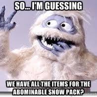 Abominable Snowman 2 | Meme Generator via Relatably.com