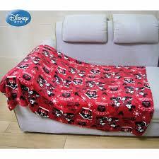 <b>Disney Cartoon</b> Brown <b>Mickey Mouse Flannel</b> Blanket Throw Manta ...