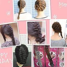 Amazon.co.jp: Hairpin <b>Portable Fish Bone</b> Braided <b>Hair</b> Braid <b>Hair</b> ...