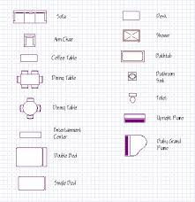 Symbols  Floor plans and Floors on PinterestLearn an effective method for drawing floor plans for your house design   help from bubble diagrams and needs analysis worksheets